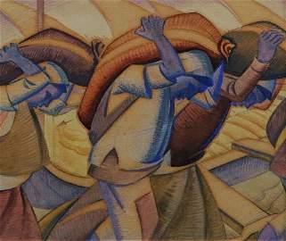 111: JOHN HENRY RITCHIE (1917 - ?) - Grain Carriers, Eg