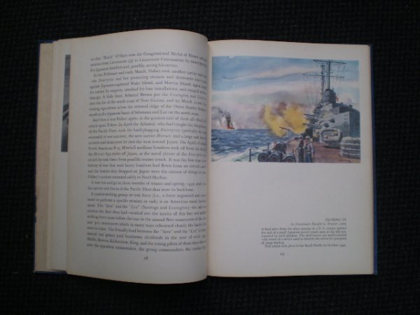 """2A: Book entitled """"The Navy at War"""""""