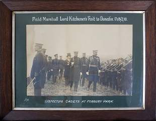 Photograph Of Field Marshal Lord Kitchener's Visit