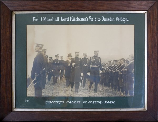 3: Photograph  Of Field Marshal Lord Kitchener's Visit