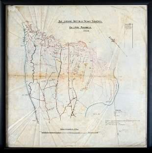 Gallipoli Map Marked 'Secret'