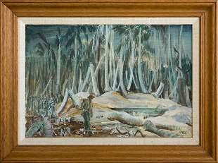 Walter Pidgeon Australian Troops In New Guinea