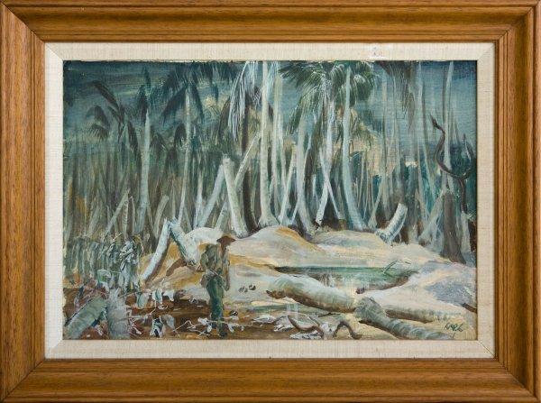 9: Walter Pidgeon Australian Troops In New Guinea
