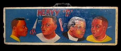 2165: Barbershop Placard 'Heavy 'D''