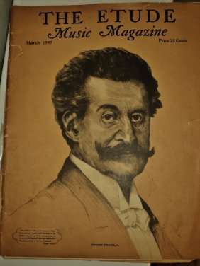 Johann Strauss Jr.the Etude Music Magazine March 1937