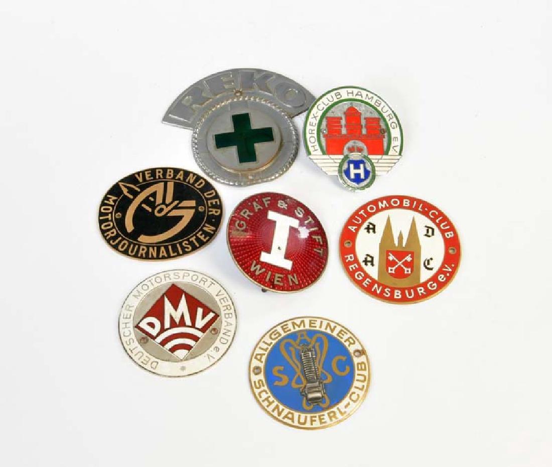 7 Badges 50er Jahre