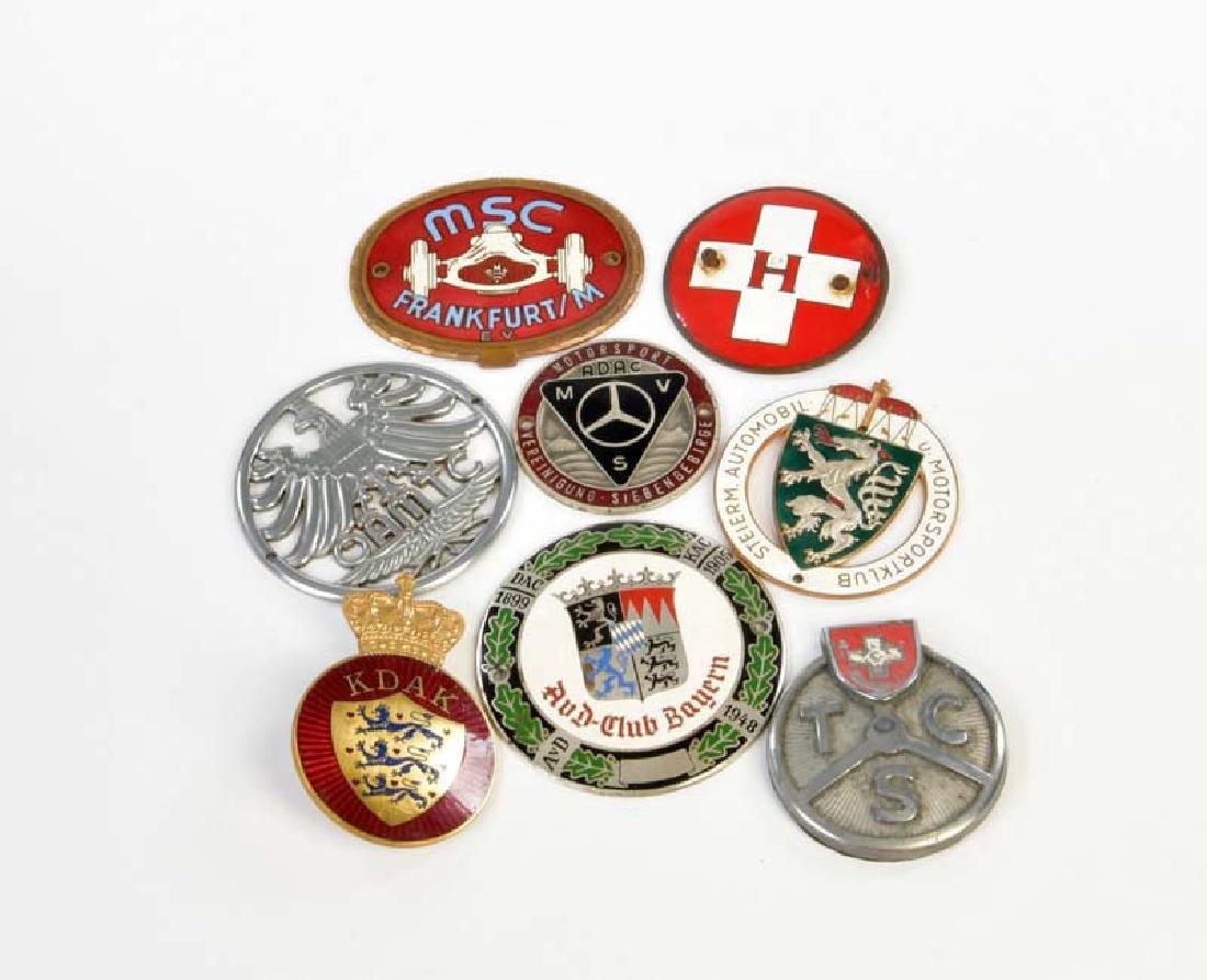 8 Badges 50er Jahre