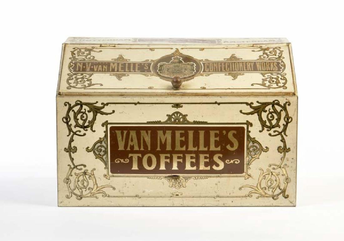 Blechdose Van Melle's Toffee/Grocery