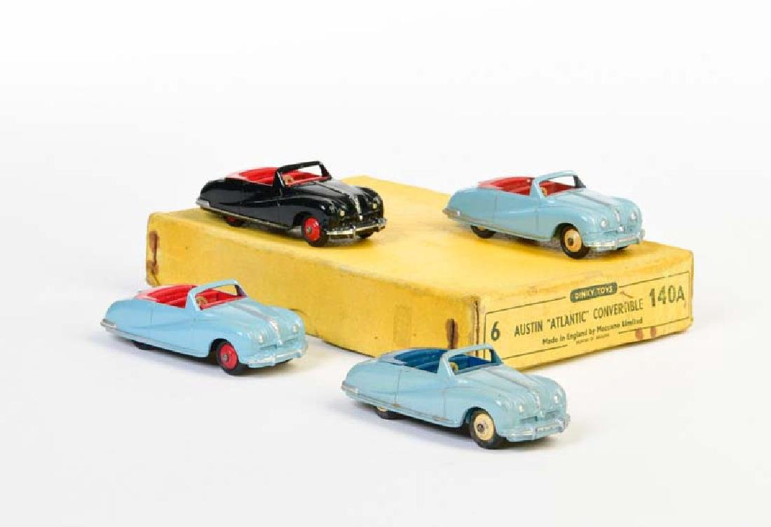 Dinky Toys, 4x  Austin Atlantic