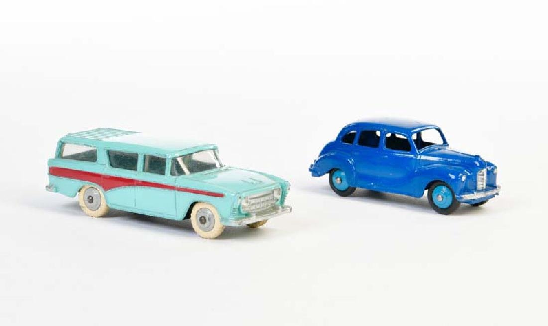 Dinky Toys, Austin Devon + Nash Rambler