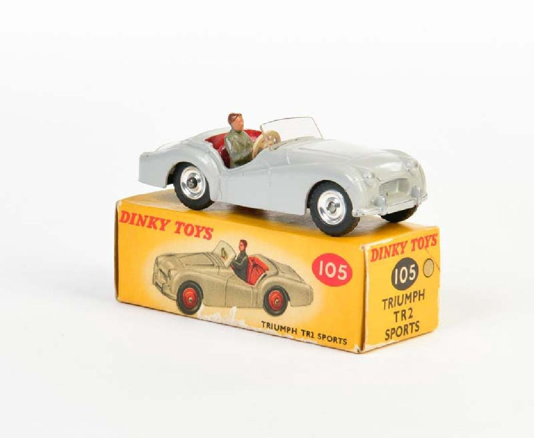 Dinky Toys, Triumph TR 2 Sports 105
