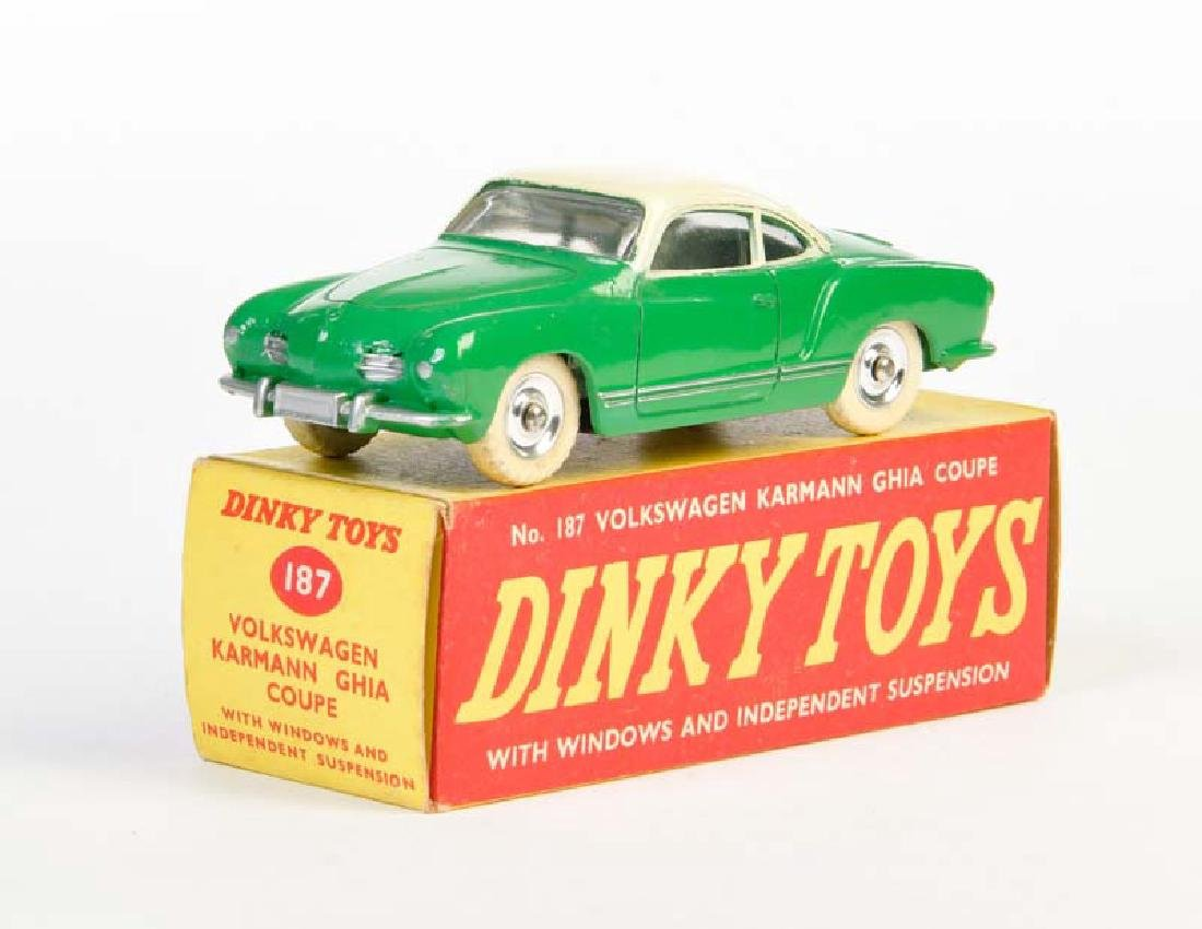 Dinky Toys, Karmann Ghia 187 Coupe