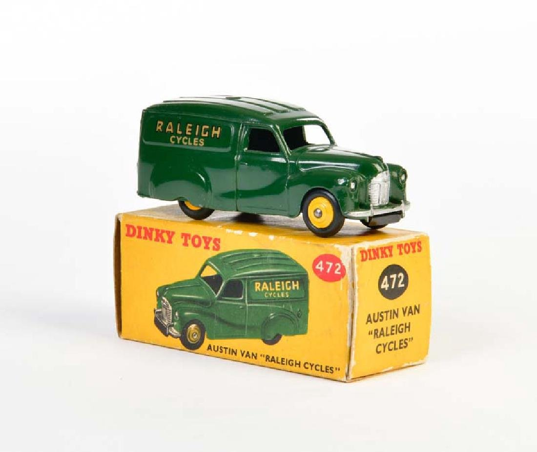 "Dinky Toys, Austin Van ""Raleigh Cycles"" 472"