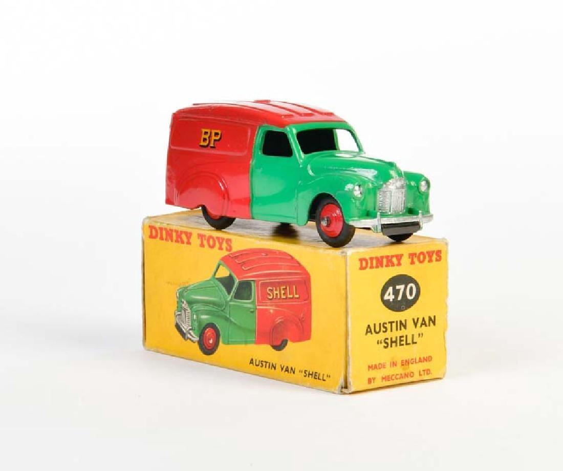 """Dinky Toys, Austin Van """"Shell"""" 470"""