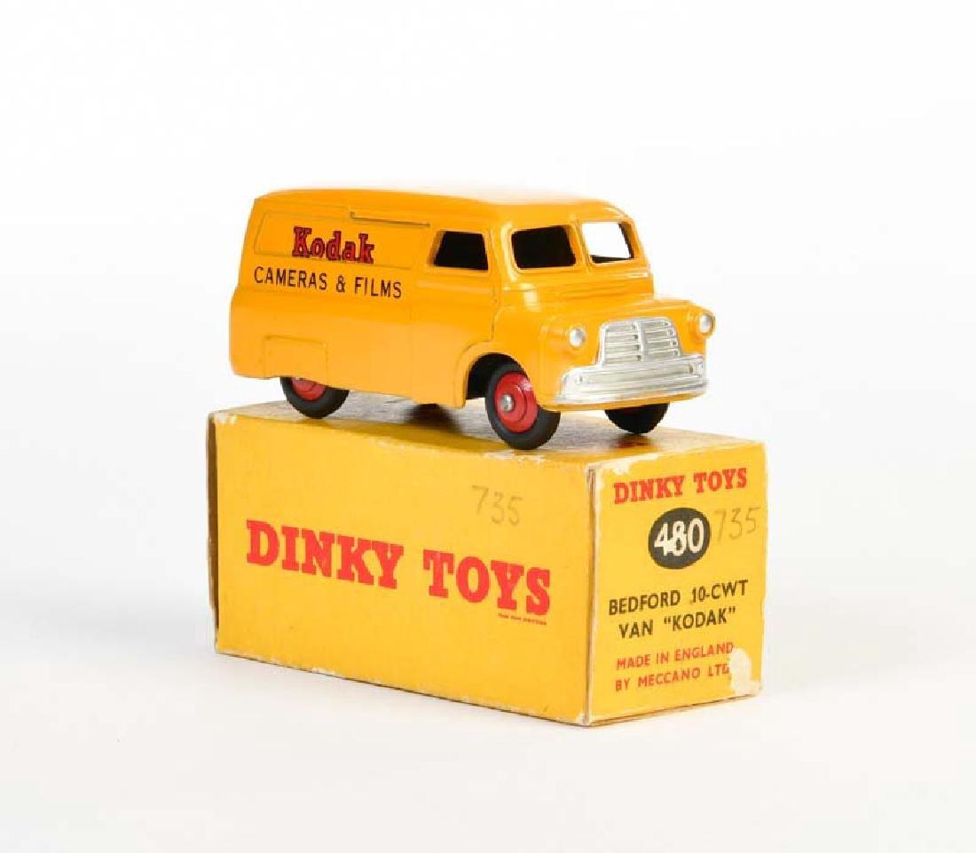 """Dinky Toys, Bedford 10 CWT Van """"Kodak"""" 480"""