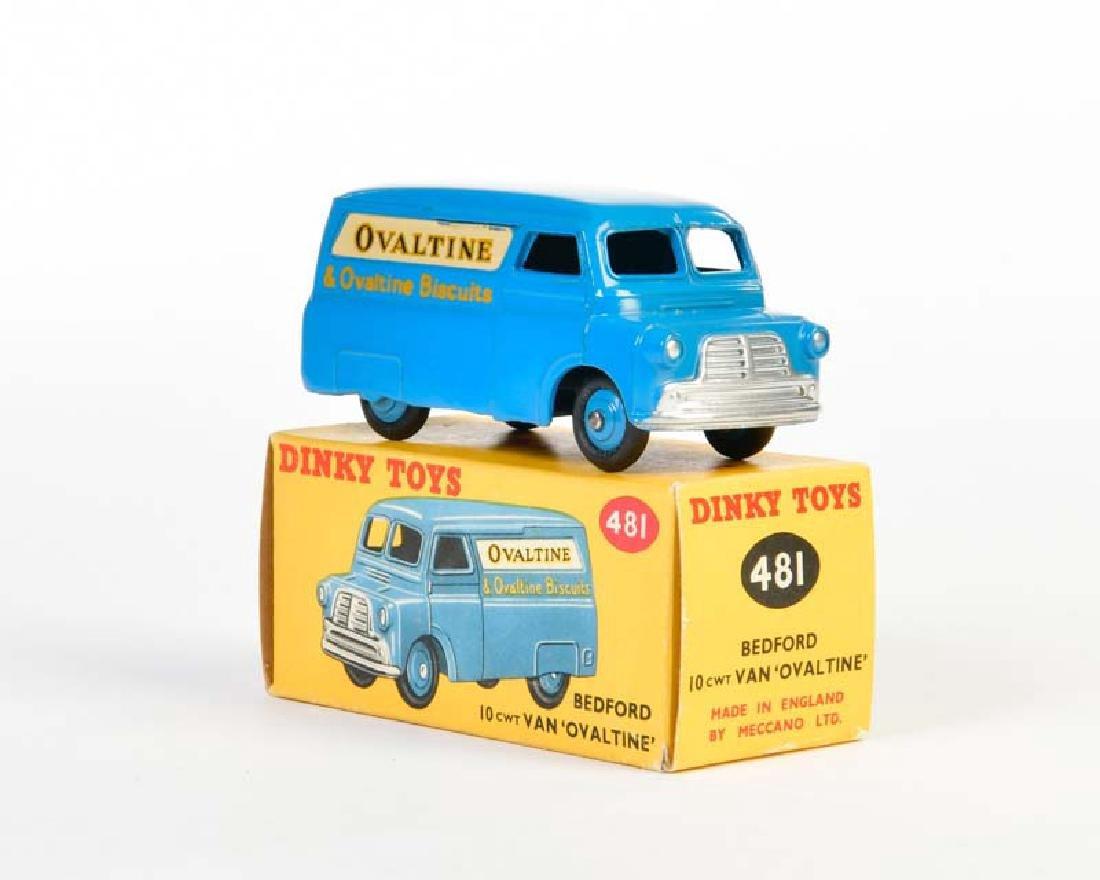 "Dinky Toys, Bedford 10 CWT Van ""Ovaltine"" 481"