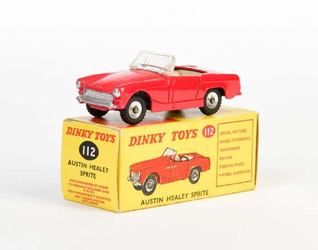 Dinky Toys, Austin Healy Sprite 112
