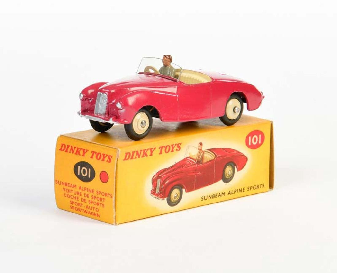 Dinky Toys, Sunbeam Alpina Sports 101