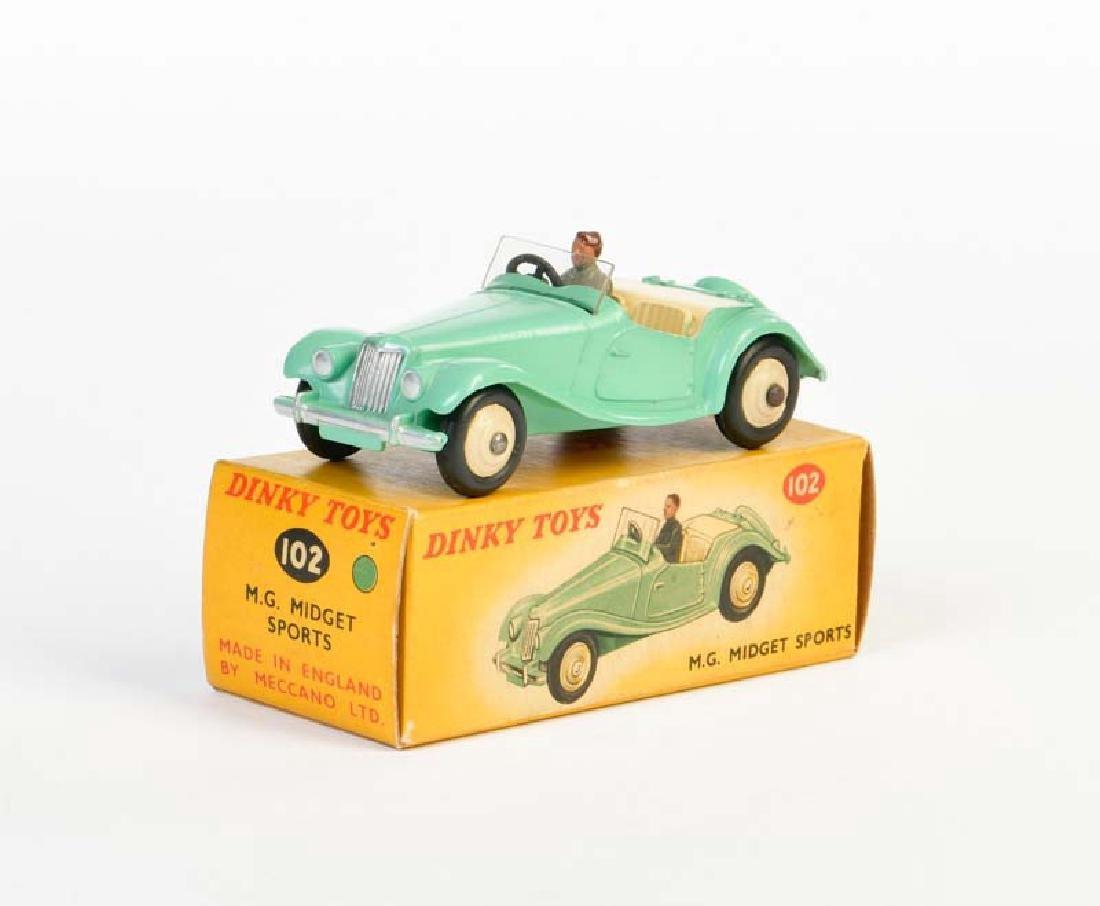 Dinky Toys, MG Midget Sports 102