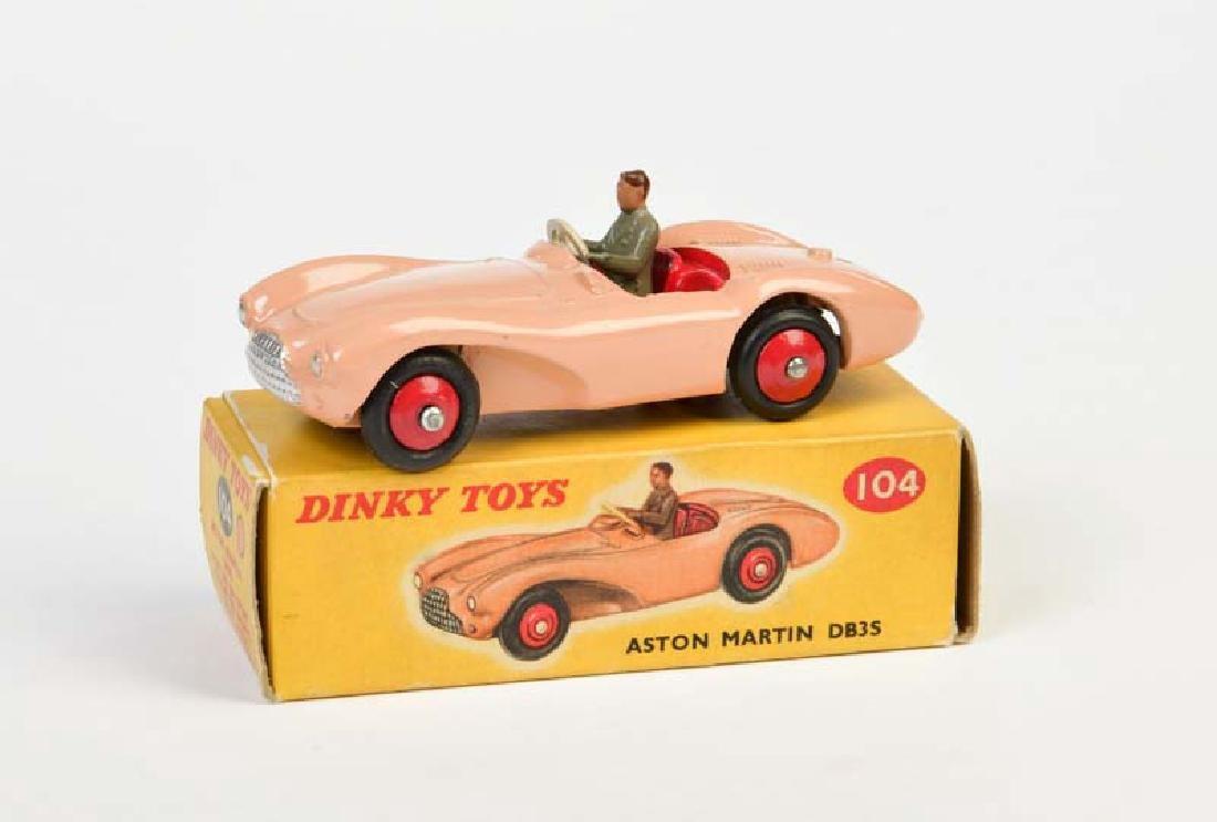 Dinky Toys, Aston Martin DB 3 S