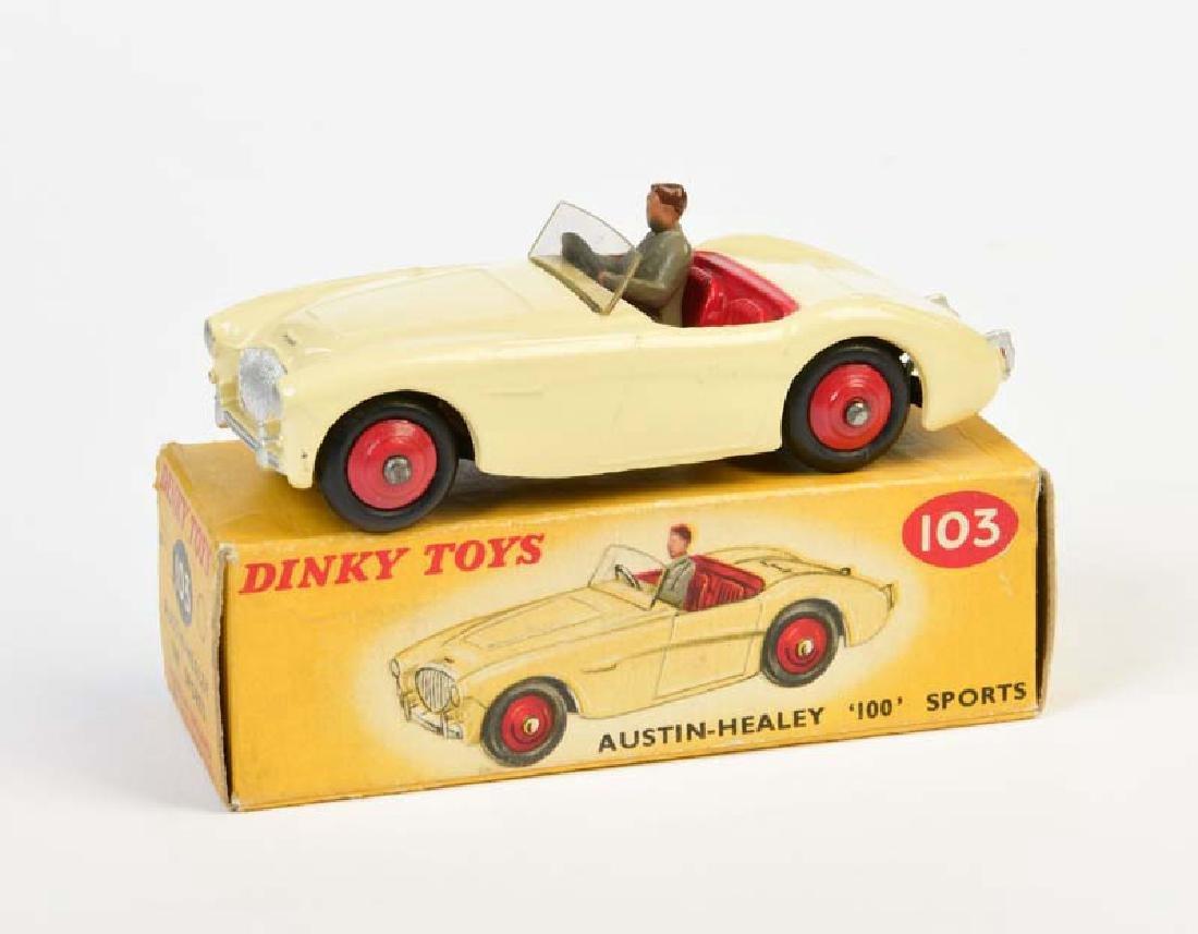 Dinky Toys, Austin Healy 100 Sports 103
