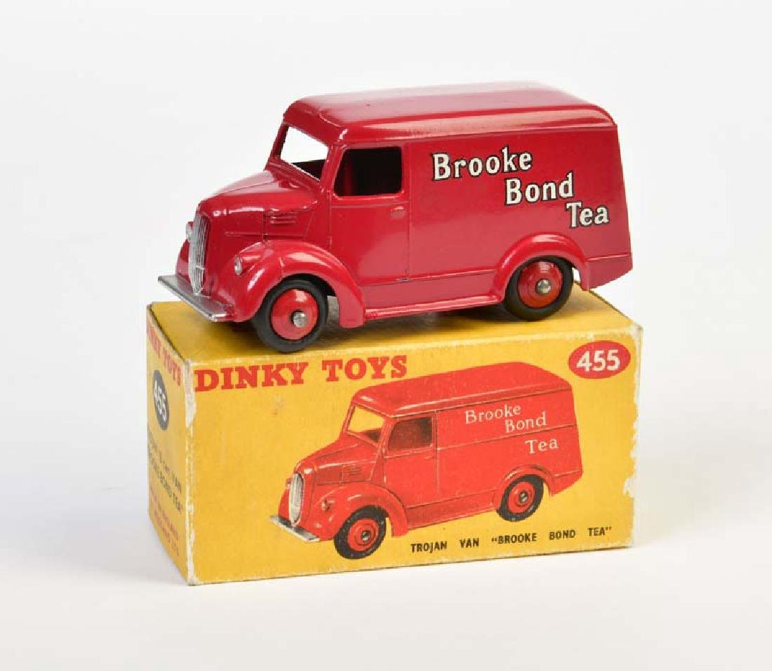 "Dinky Toys, Trojan Van ""Brooke Bond Tea"""