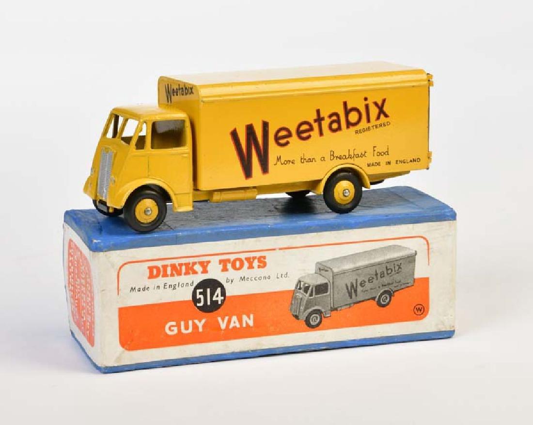 """Dinky Toys, Guy Van 514 """"Weetabix"""""""