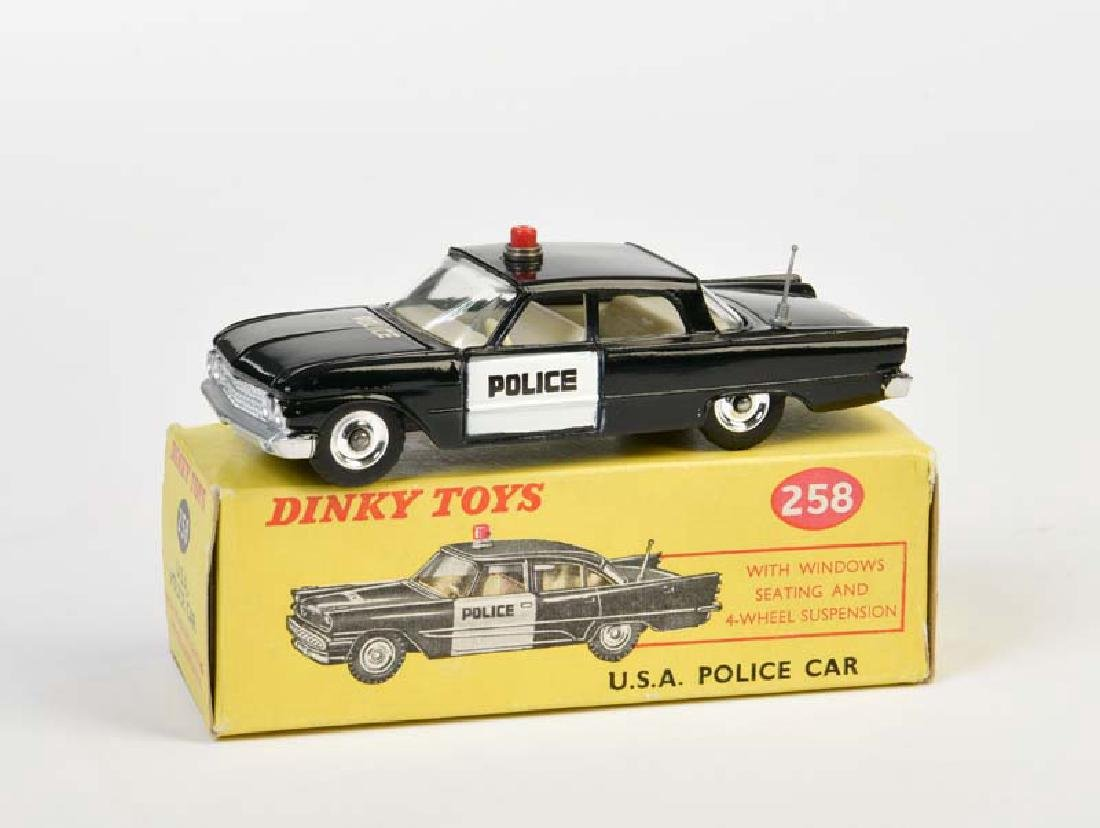 Dinky Toys, USA Police Car Ford