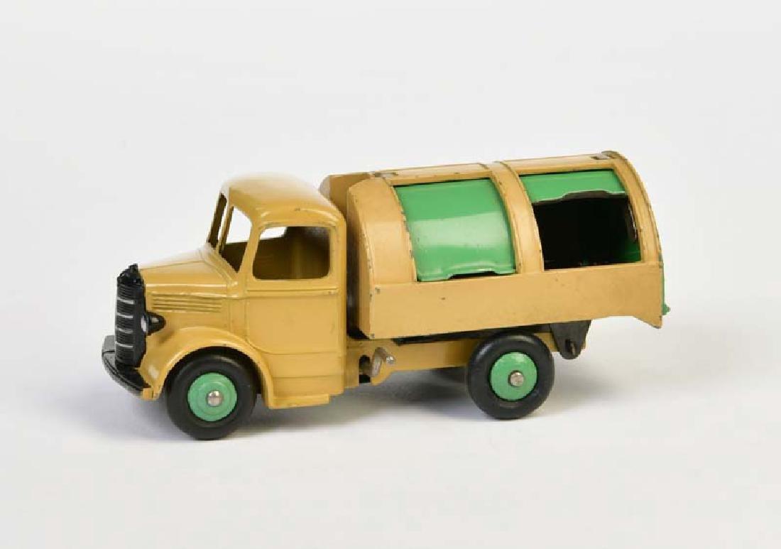 Dinky Toys, Muellwagen 252 mit gruenen Felgen