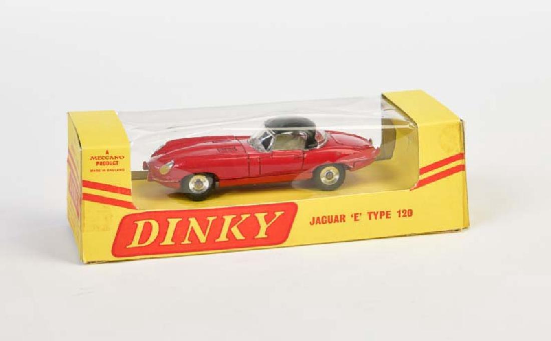 Dinky Toys. Jaguar E Type 120