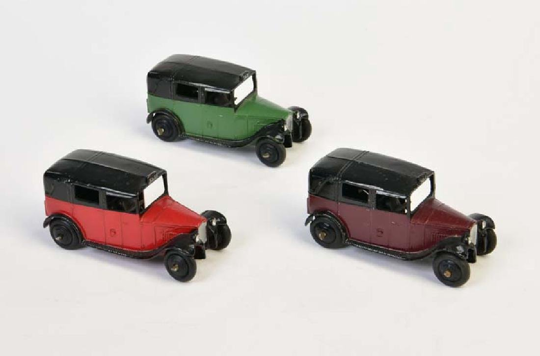 Dinky Toys, 3x Taxi von 1947