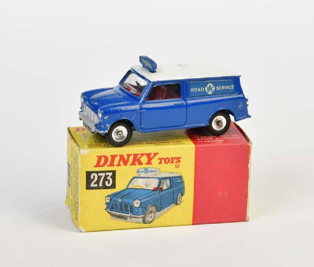 Dinky Toys, RAC Patrol Mini Van 273