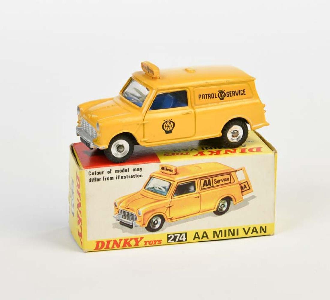 Dinky Toys, AA Mini Van 274