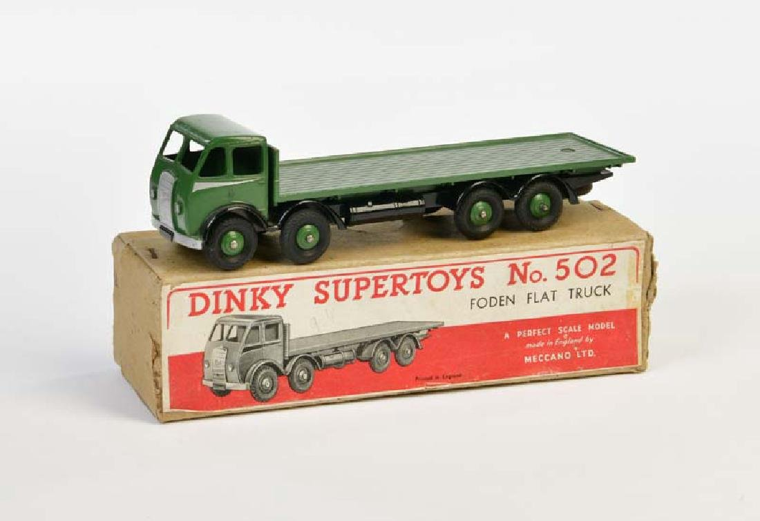 Dinky Toys, Foden Flat Truck 502