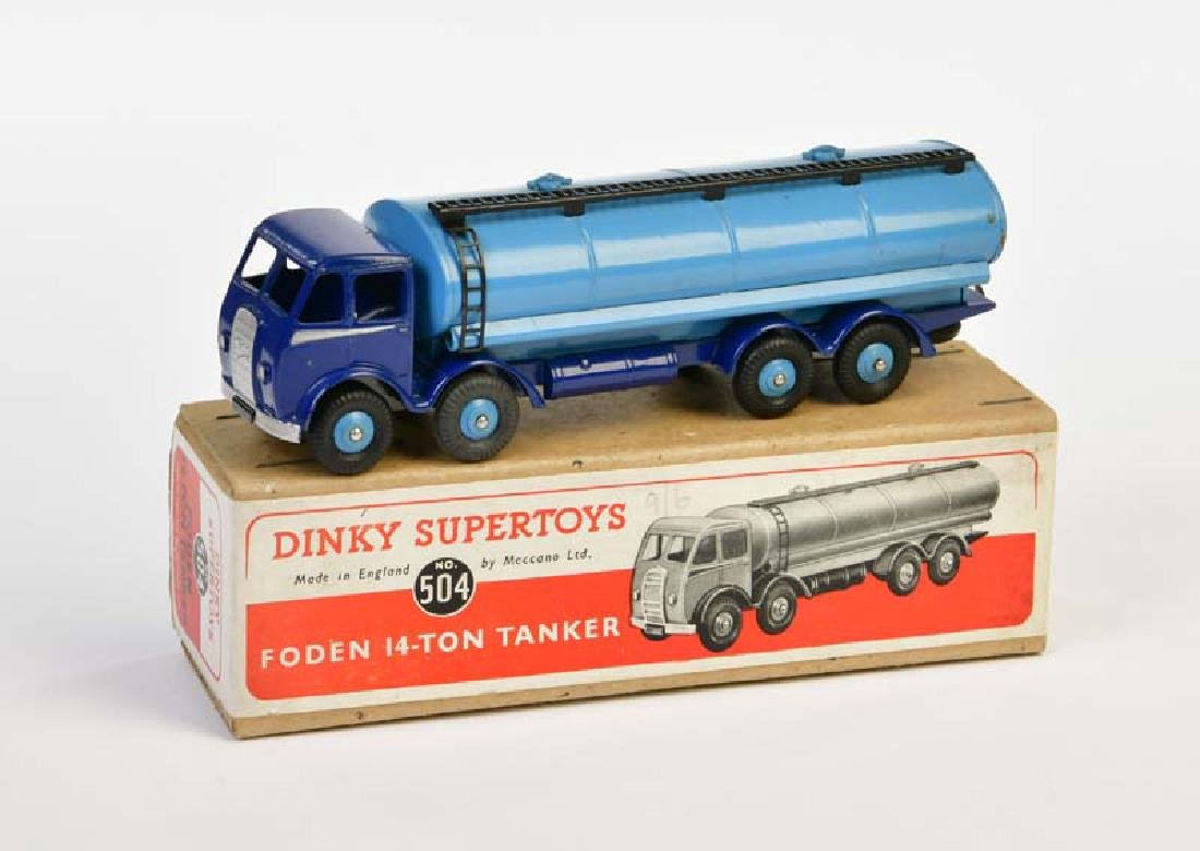 Dinky Toys, Foden 14 Ton Tank Wagen 504