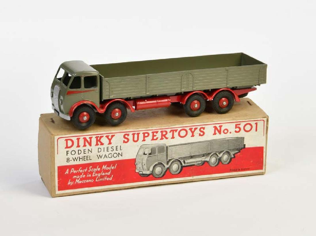 Dinky Toys, Foden Diesel 8 Wheels Wagon 501