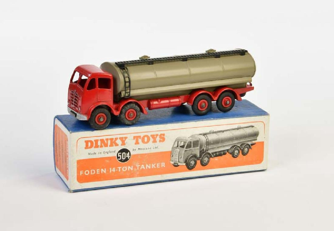Dinky Toys, Foden 14 Ton Tanker 504