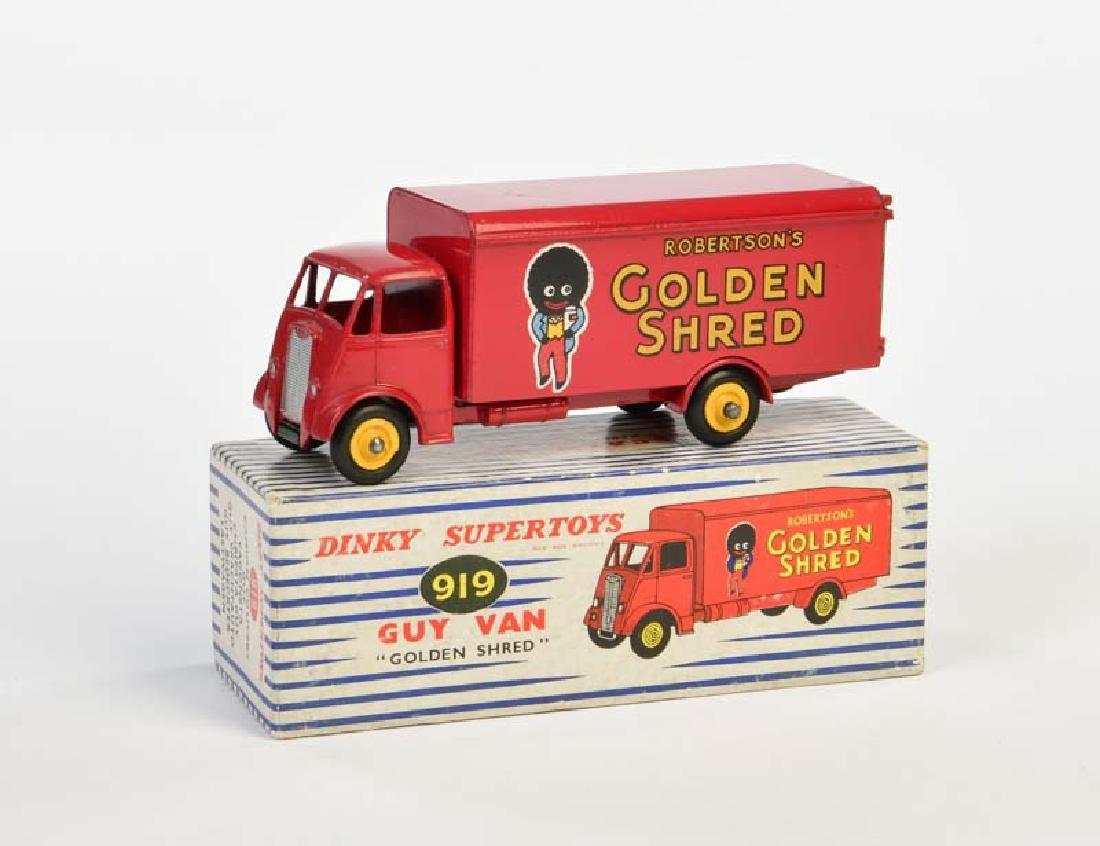 """Dinky Toys, Guy Van """"Golden Shred"""""""
