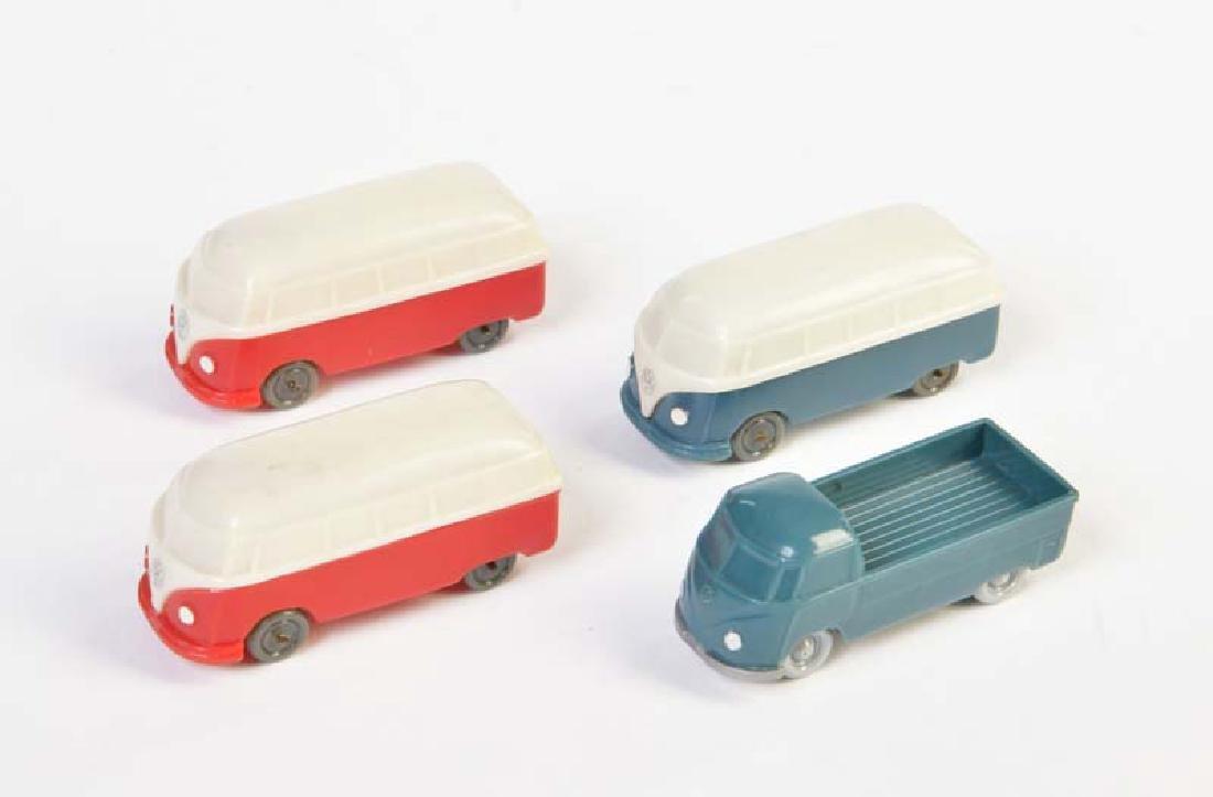 Wiking, 4 VW Busse