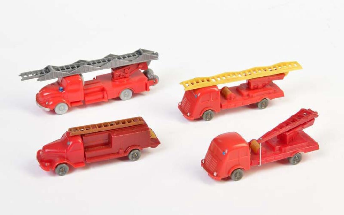 Wiking, 4x Feuerwehr