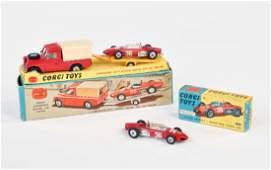 Corgi Toys Gift Set 17 Land Rover Ferrari Rennwagen
