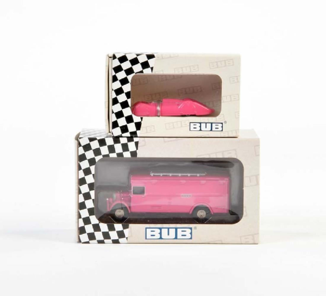 Bub, 2 Sondermodelle Autounion in Pink