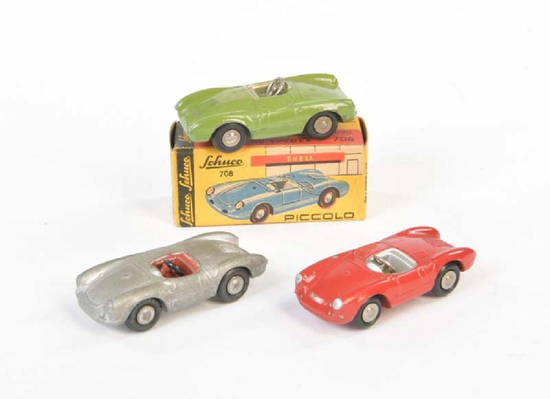 Schuco, 3 Porsche Piccolo