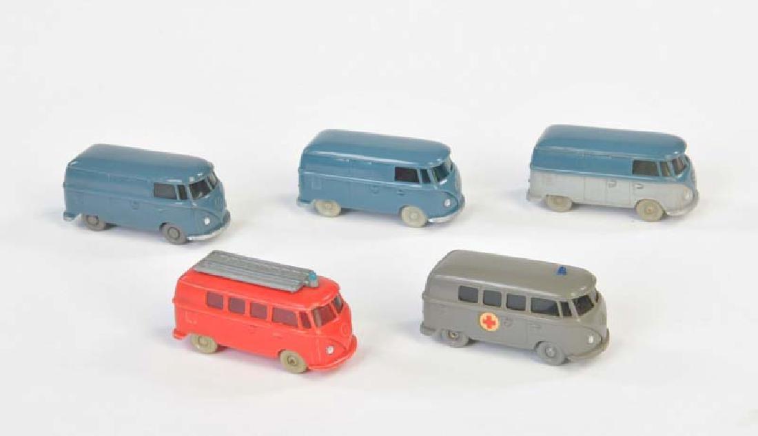 Wiking, 5 VW Busse