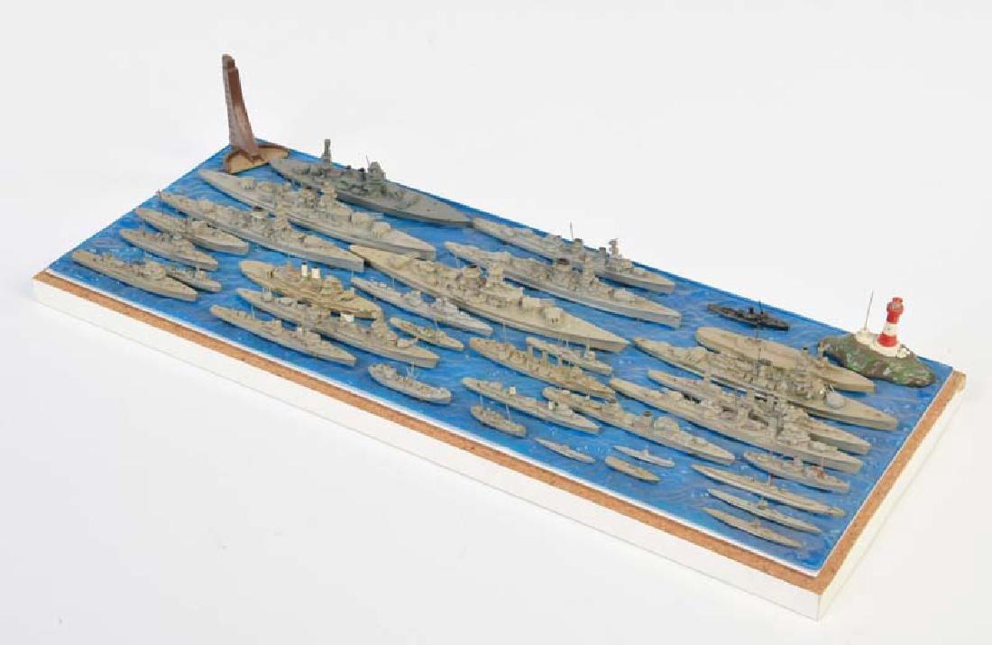 Wiking, Konvolut Schiffe auf Brett