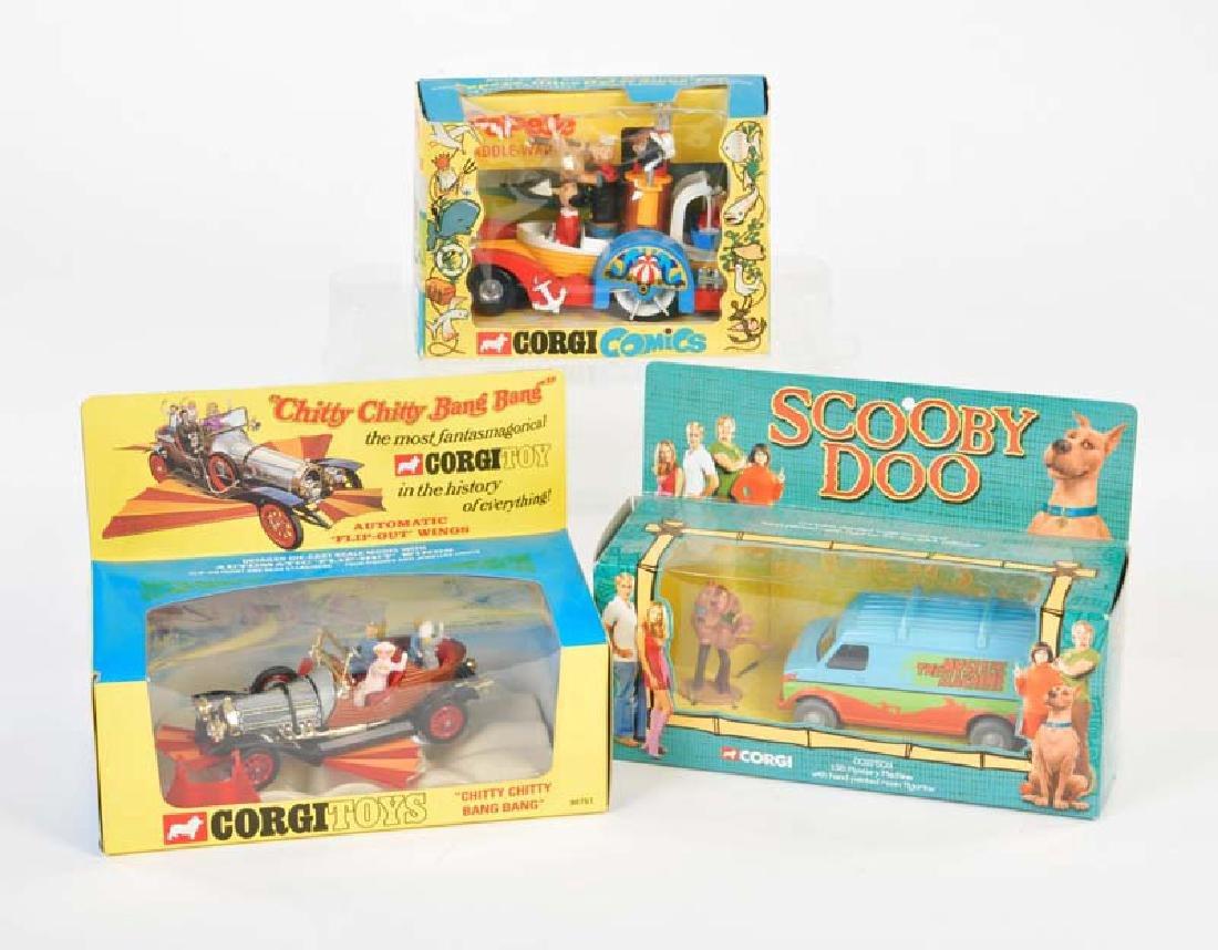 Corgi Toys, 3 Packungen