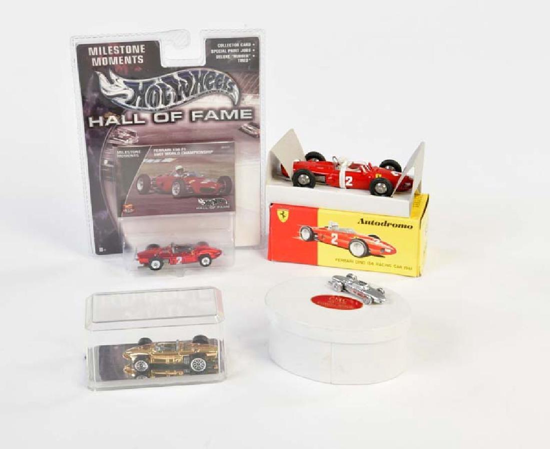 Autodrome, CMC + Hotwheel: Ferrari 156 F 1 Rennwagen