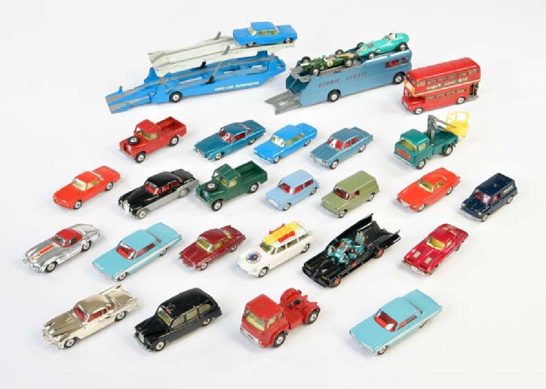 Corgi Toys, 27 Fahrzeuge