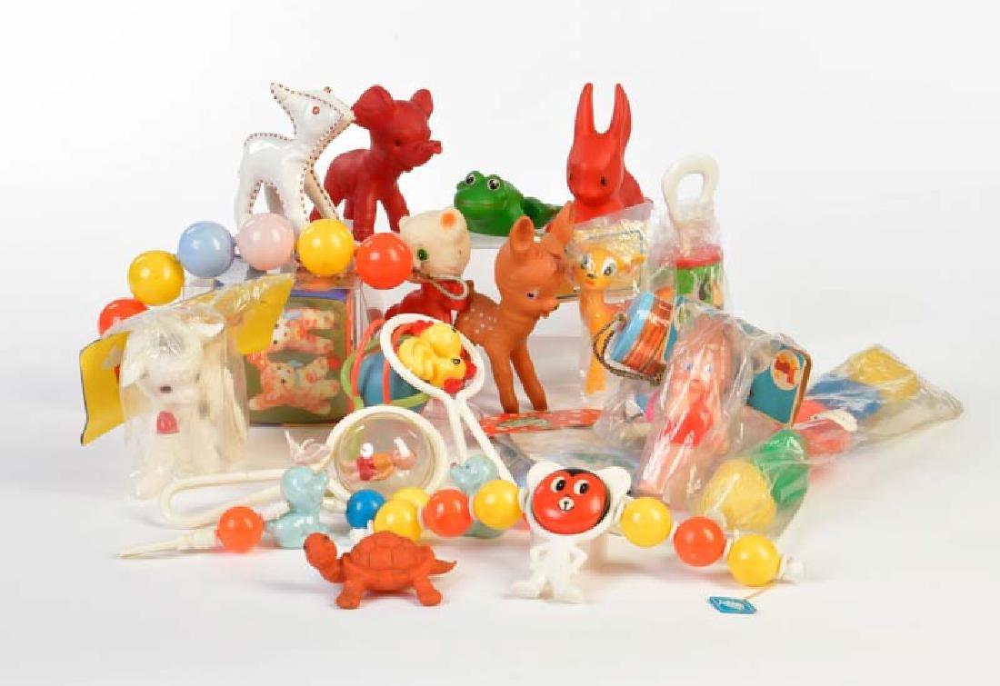 Schildkroet + Steiff, Babyspielzeug