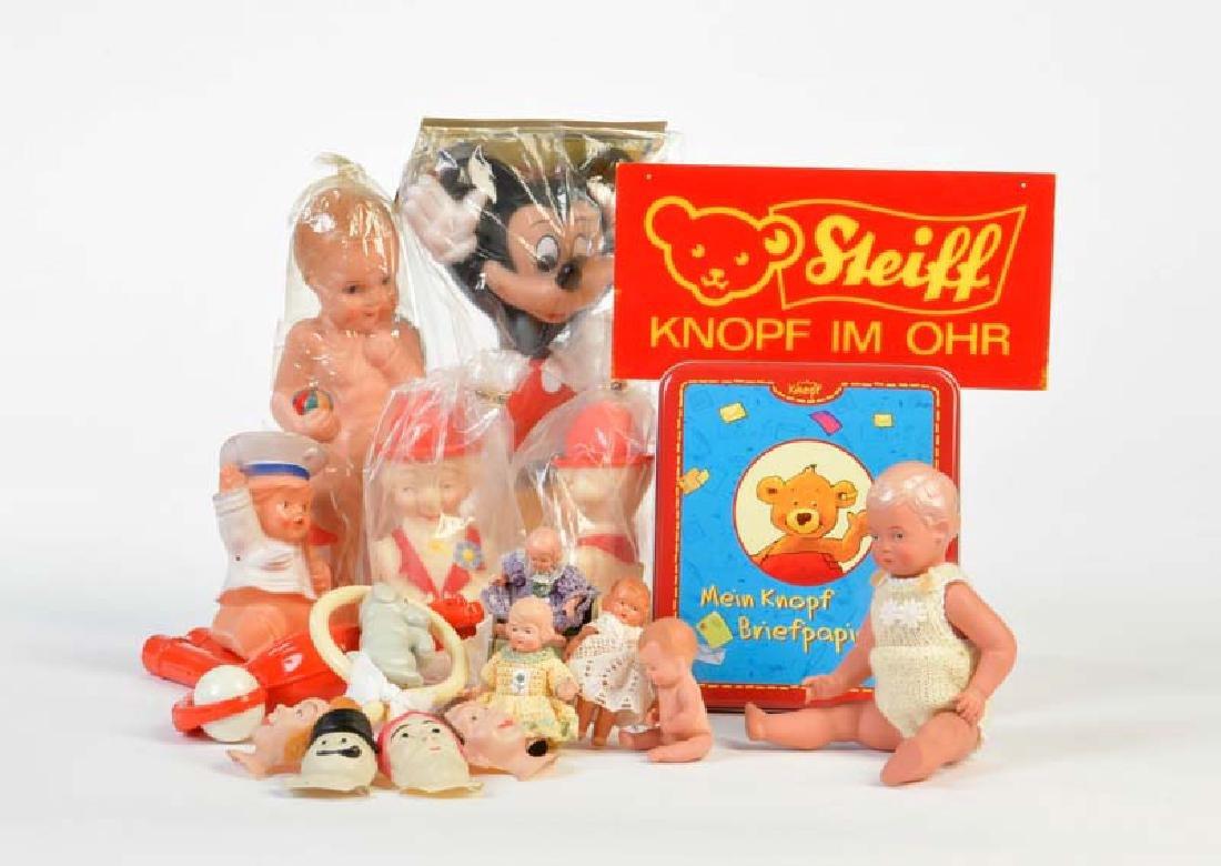 Steiff + Schildkroet, Spielzeug + Puppen